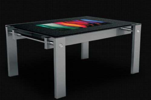 Touchable Table Screens