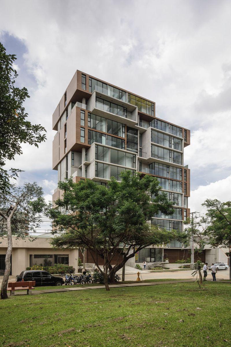 Original Modern Apartment Buildings : one apartment building