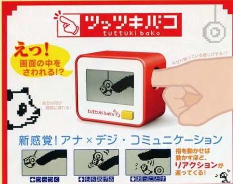 One-Finger Game Consoles