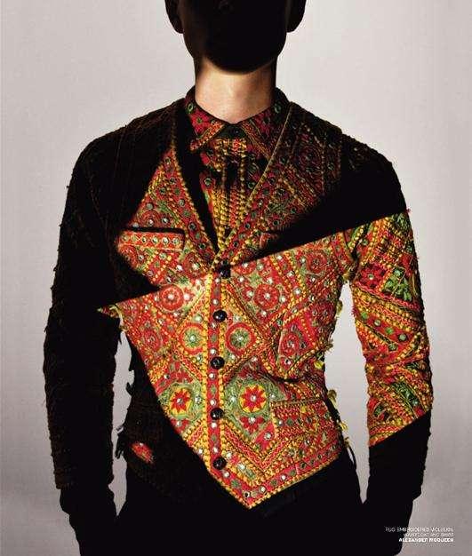 Faceless Male Fashion Editorials