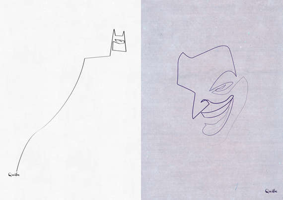 Single Line Text Art : Minimalist cartoon sketches one line prints