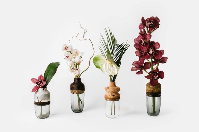 Scrap Material Vases