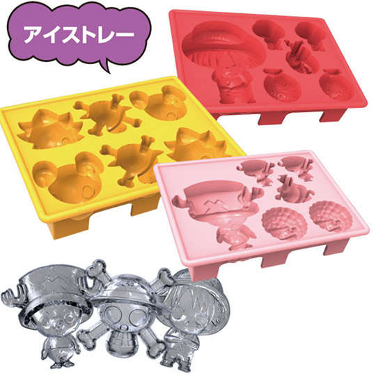 Manga-Inspired Ice Cubes