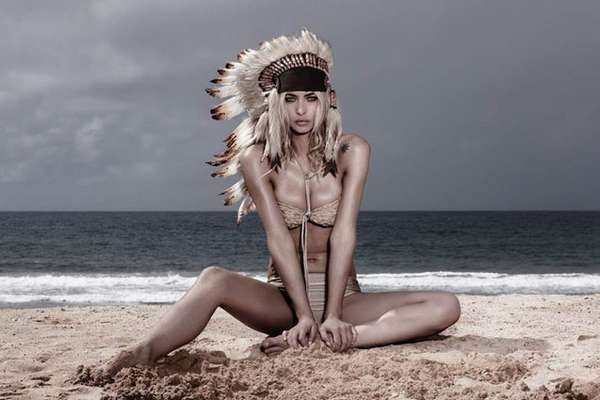 Native-Inspired Beachwear