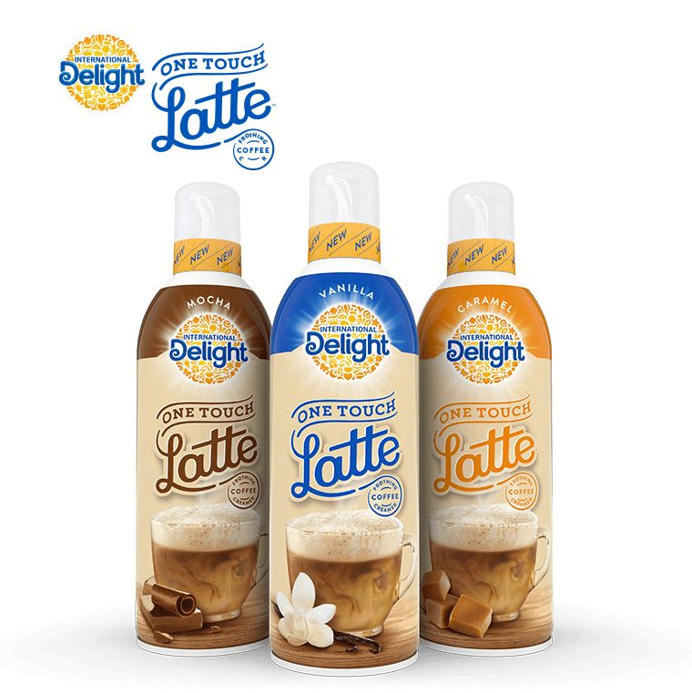 Frothing Latte Creamers One Touch Latte