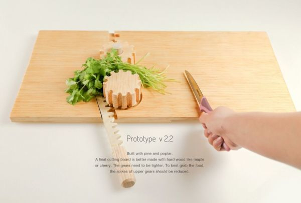 One-Handed Cutting Boards