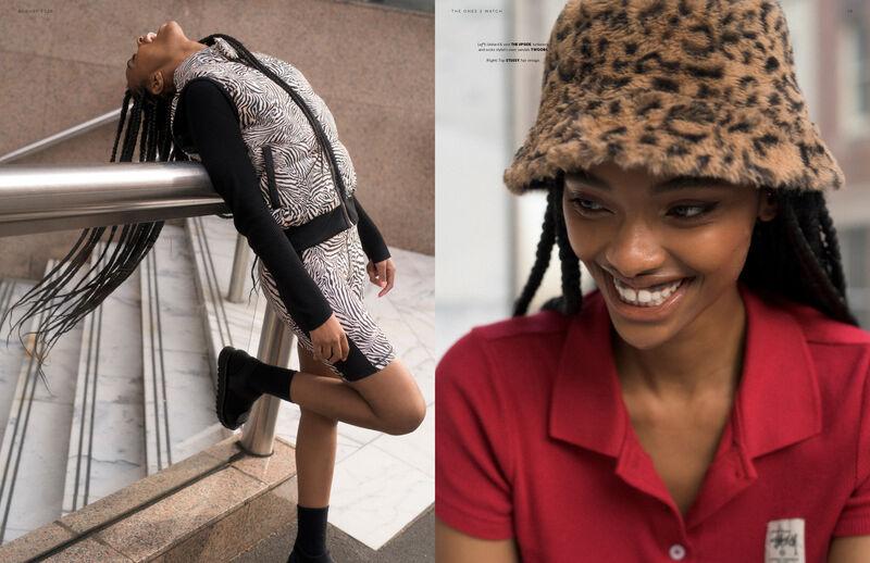 Pattern-Enriched Streetwear Editorials