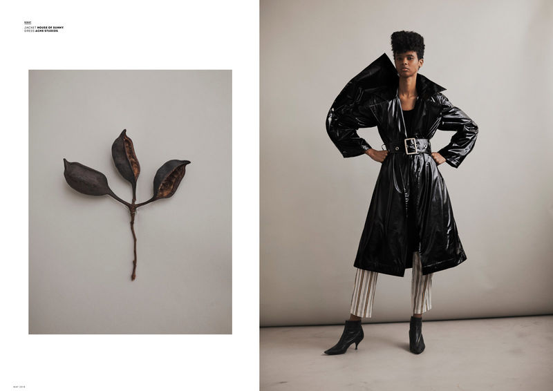 Botany-Inspired Fashion Editorials