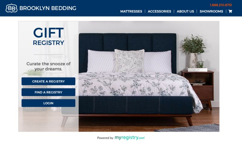 Sleep-Specific Gift Registries