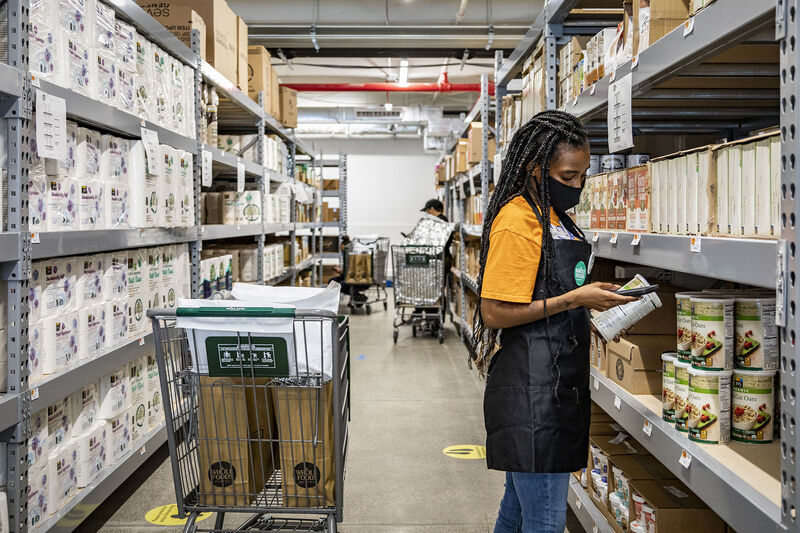 Online-Only Healthy Supermarkets