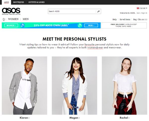 Web Shopping Stylist Services