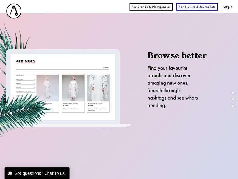 Fashion Interface Platforms
