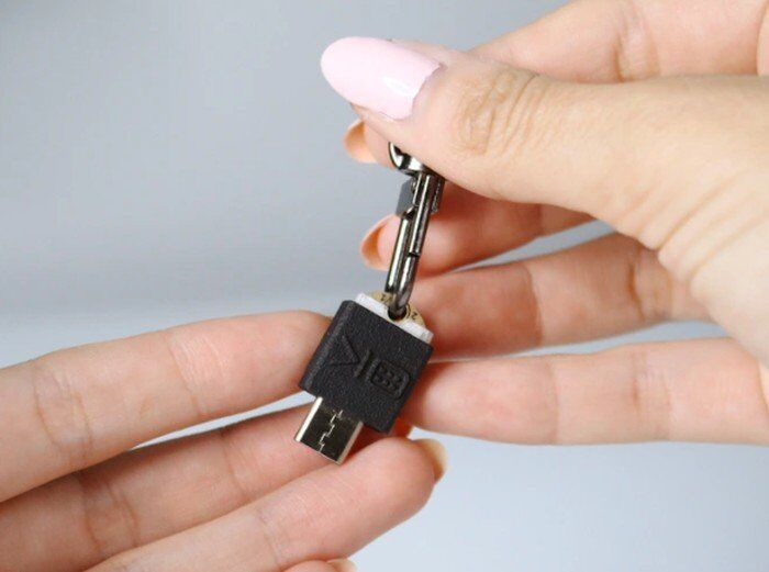 Physical Password Keychains