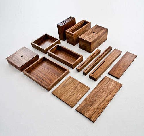 Minimalist Wooden Kitchenware