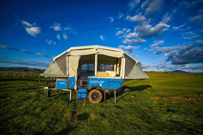 Compact Folding Campers