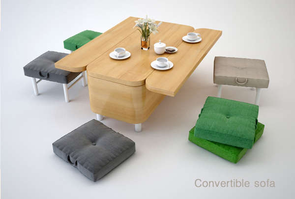 Table-Transforming Couches