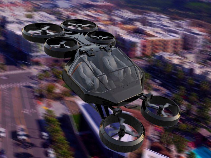 Hexa-Rotor Urban Vehicles