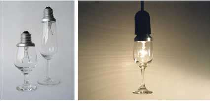 Wine Glass Light