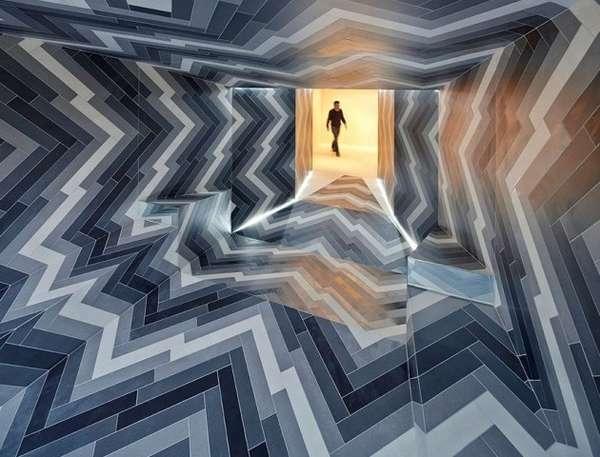 Illusory Imploding Interiors
