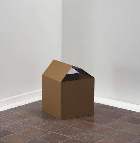 Cardboard Box Sculptures