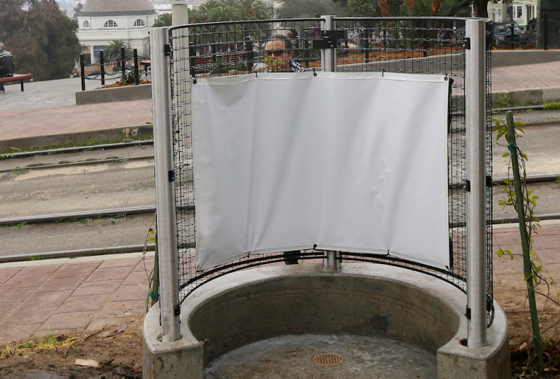 Outdoor Urinal Installations