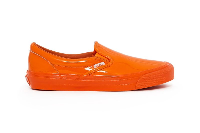 Vibrant High-Shine Slip-Ons