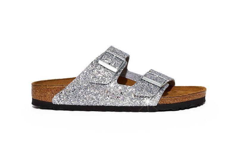 Glistening Collaborative Sandals