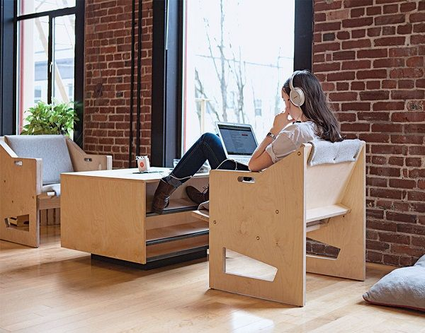Open-Plan Office Furniture