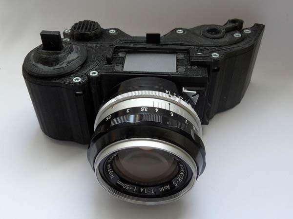 3D-Printed SLR Cameras