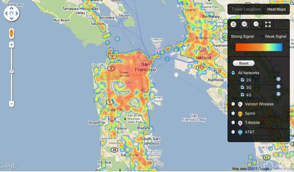 Crowdsourced Cellphone Mapping