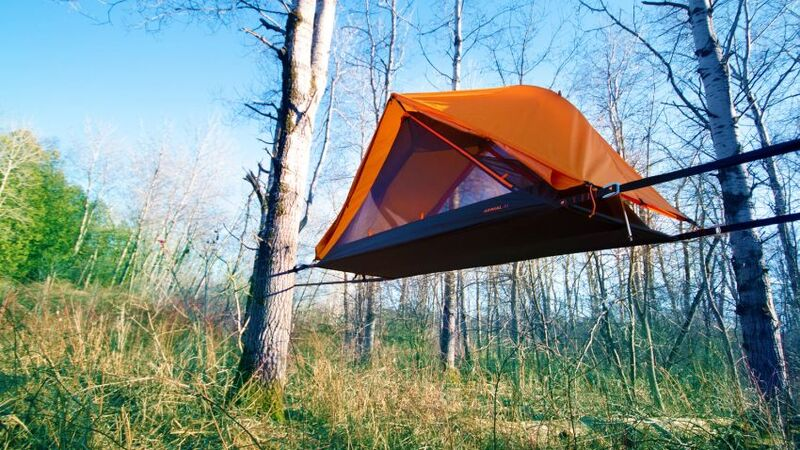 Supportive Aerial Camping Tents