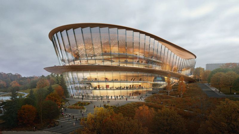 Curvaceous Opera House Designs