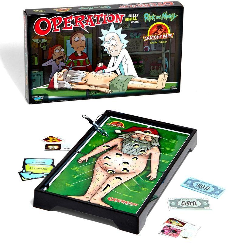 Offbeat Cartoon Board Games