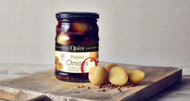 Traditionally Inspired Pickled Onions