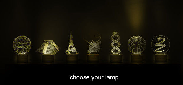 Optical Illusion Lamps