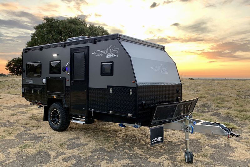 Luxury Off-Road Camping Trailers