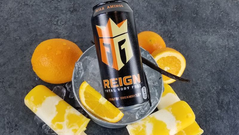 Creamsicle-Flavored Energy Drinks