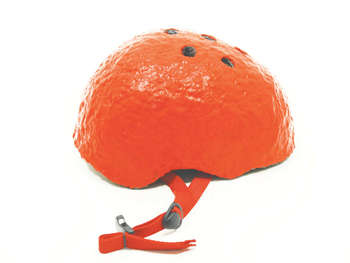 Citrus Fruit Helmets