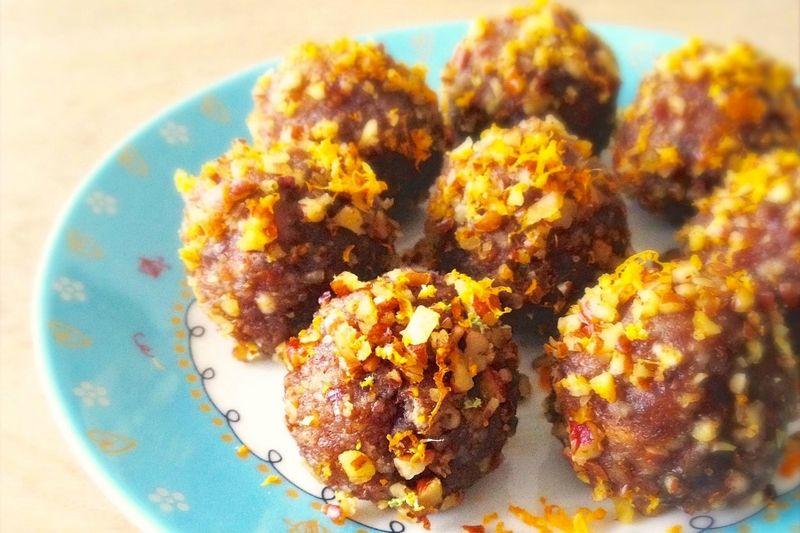 Vegan Pecan Truffles