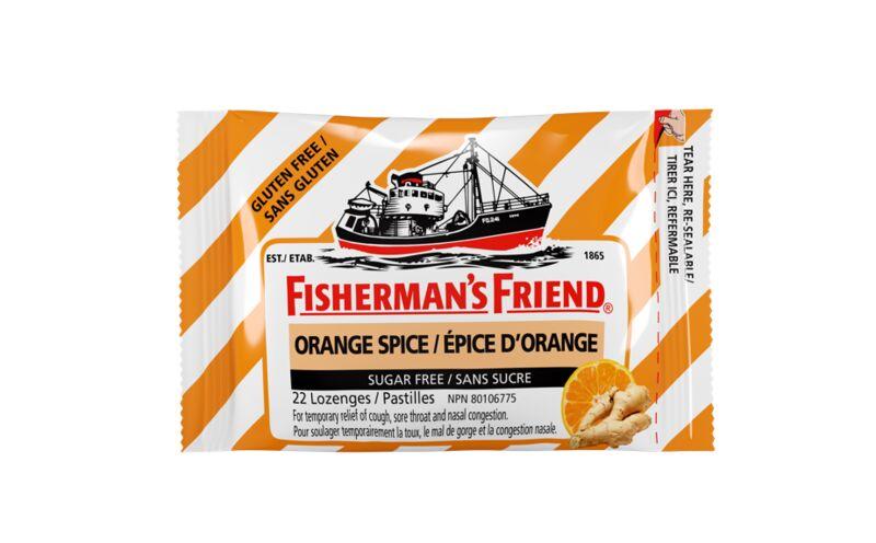 Orange Spice Cough Drops
