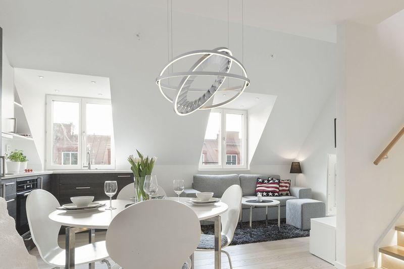 Gyroscopic Ceiling Fans