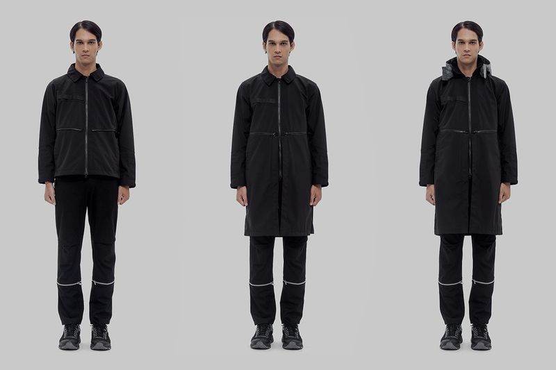 Dark Tonal Collaborative Techwear - Orbit Gear and Living Bone Join Forces for a SS19 Capsule (TrendHunter.com)