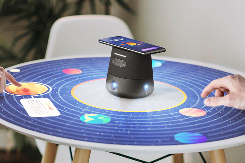 Immersive 360-Degree Projectors
