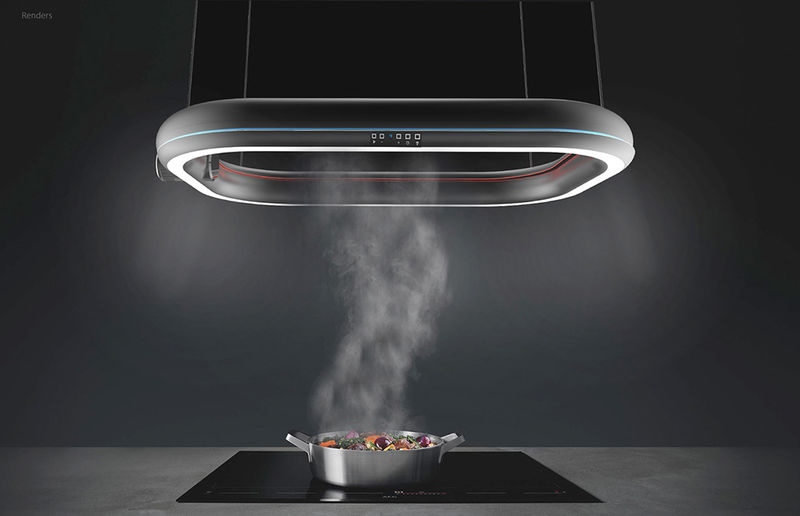 Suspended High-Tech Range Hoods