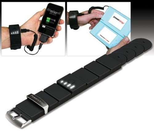 Gadget-Charging Wristbands