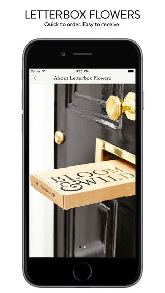 Simplified Flower Delivery Apps