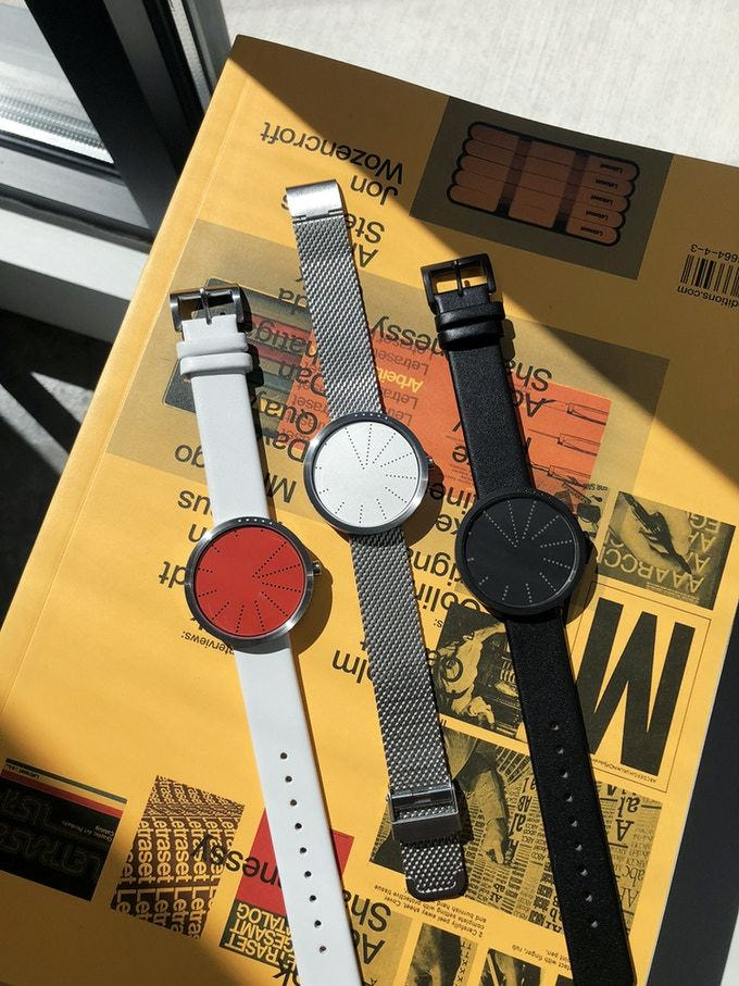 Minimal Dot Matrix Watches
