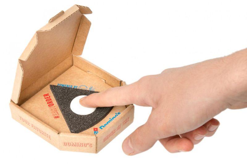 Convenient Pizza Delivery Buttons