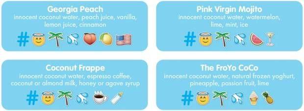 Emoji Drink-Ordering Apps