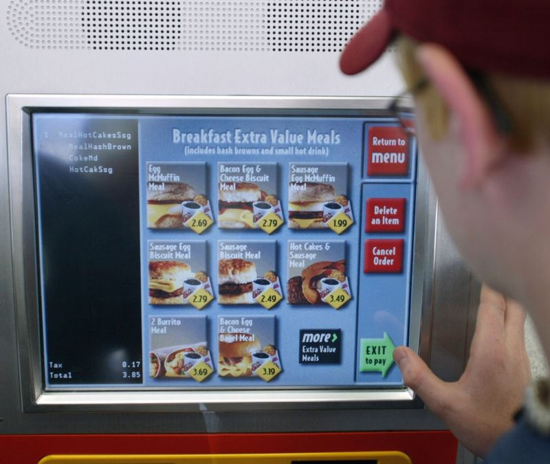 Digital Ordering Kiosks